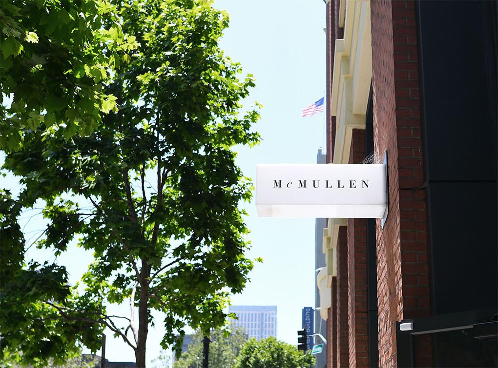 McMullen Boutique signage